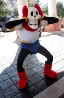 Papyrus cosplay